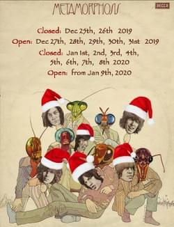 Christmas hours, The Vintage Record