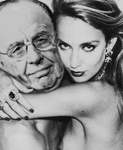 2015 –  News breaks of Rupert Murdoch's relationship with Jerry Hall.