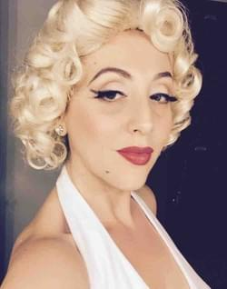 Long Beach Opera backstage, Marilyn Forever