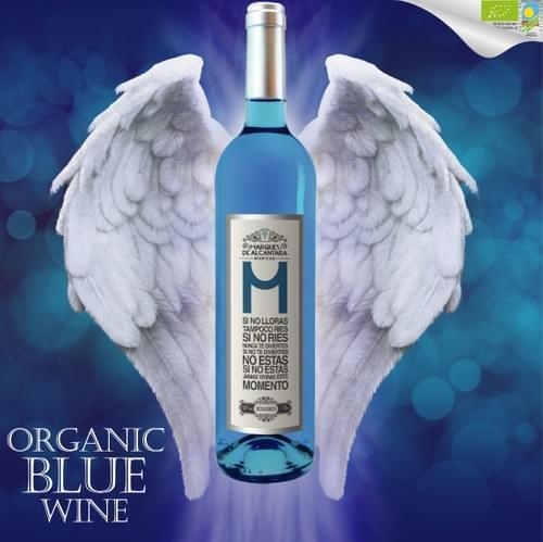 Marqués de Alcántara Chardonnay ECOLOGICO (Organic Blue Wine)