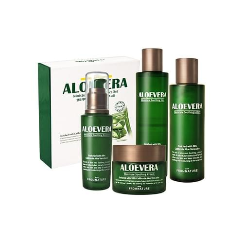 FROMNATURE Aloevera Moisture Soothing 4 Items Set 1