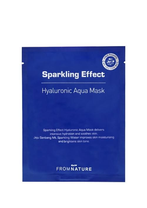 FROMNATURE Sparkling Effect Hyaluronic Aqua Mask (23ml)
