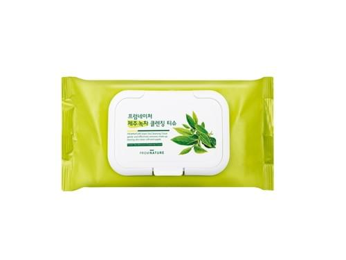 FROMNATURE Jeju Green Tea Cleansing Tissue 1