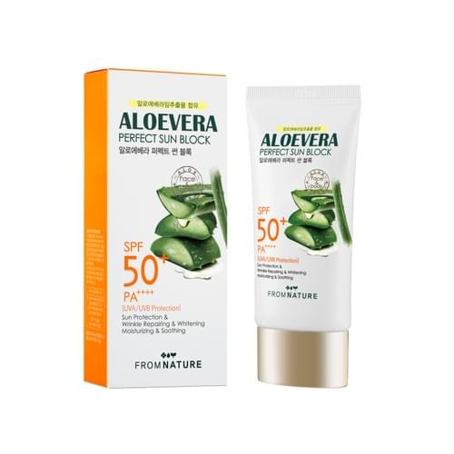 FROMNATURE Aloevera Perfect Sunblock 1