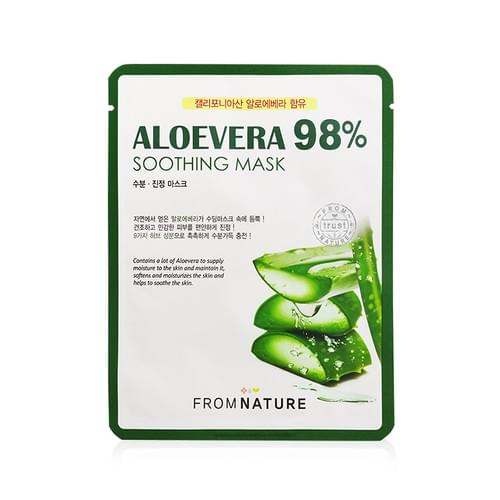 FROMNATURE Aloevera 98% Soothing Mask 1