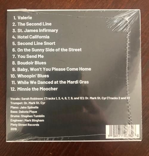Dr. Daylight's Jazz Co. CD