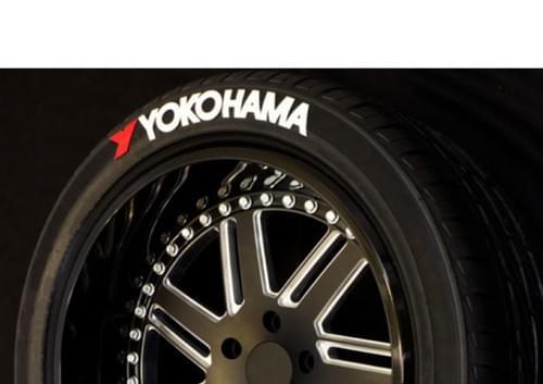 LETTRAGE POUR PNEU/TIRE LETTERS - YOKOHAMA / YOKOHAMA