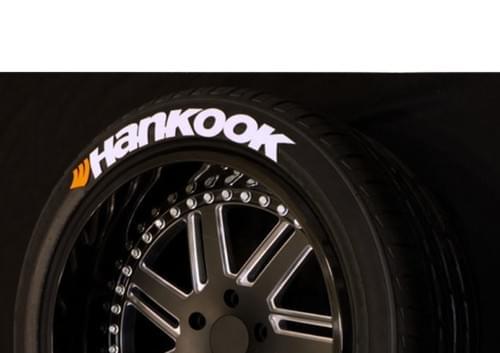 LETTRAGE POUR PNEU/TIRE LETTERS - HANKOOK