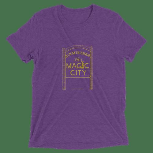 Tshirt Purple/Gold