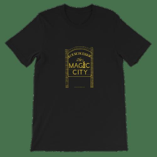 Tshirt Black/Gold