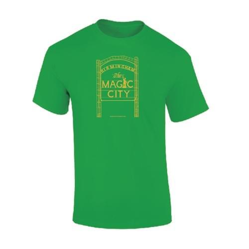 Magic City Green/Gold Tshirt