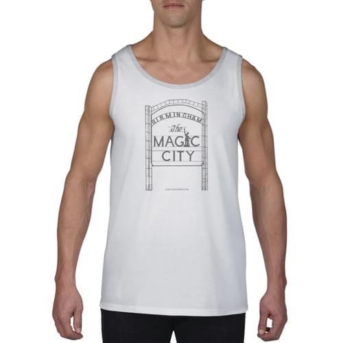 Magic City Mens Grey Tank Top