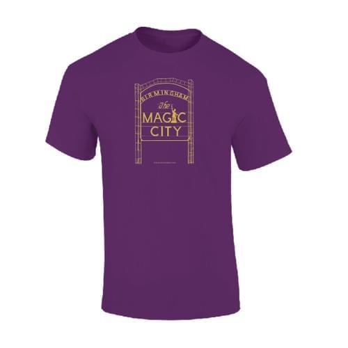 Magic City Purple/Gold Tshirt
