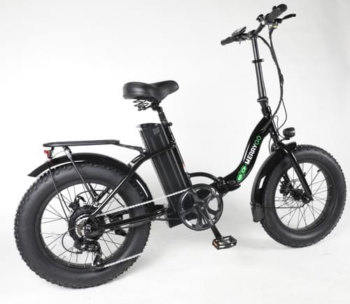 FAT-S M CLASS Foldable Electric Bike  (Black)  Taxes Included - Shipping Extra