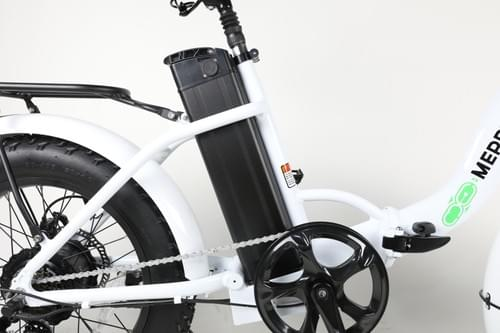 FAT-S M CLASS Foldable Electric Bike  (White) Taxes Included - Shipping Extra
