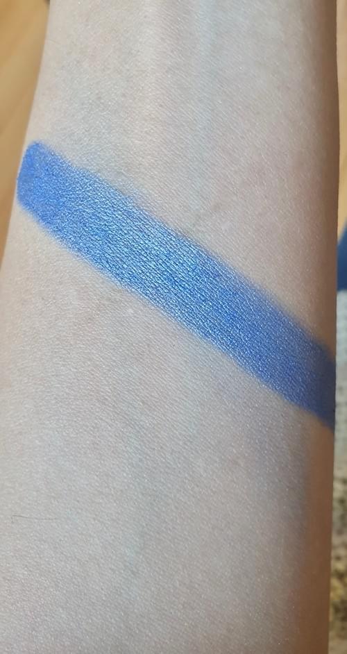 Fard à paupière Bleu Lagon