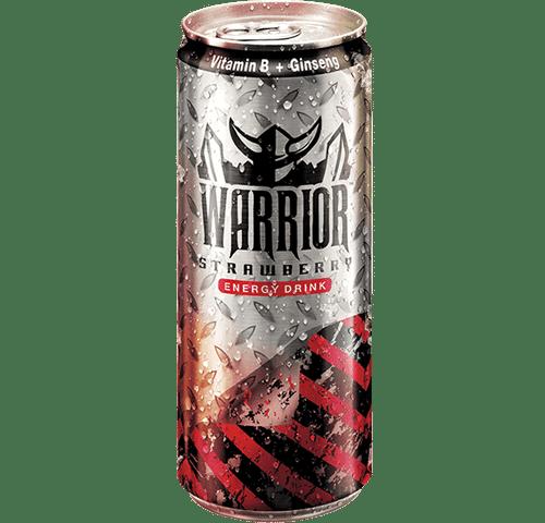 Warrior Sparkling Energy Drink - STRAWBERRY