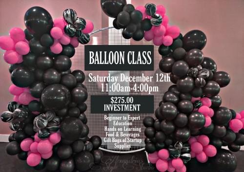 Hands On Balloon Class