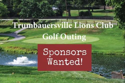 Golf Outing Sponsorship
