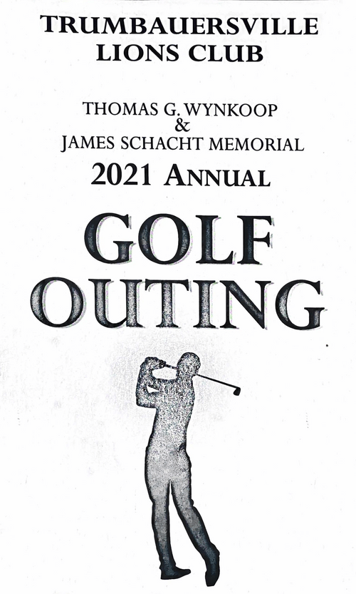 Trumbauersville Lions Club Annual Golf Outing 2021