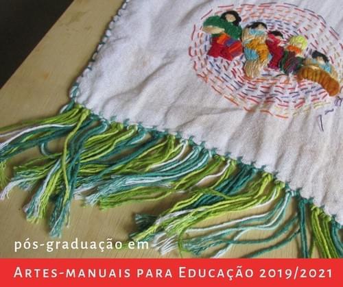 Pós-graduação em Artes-Manuais para Educação