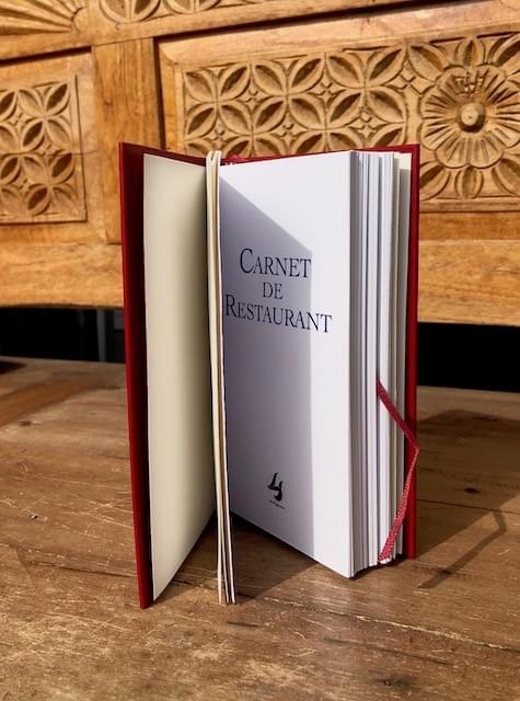CARNET DE RESTAURANT