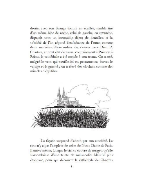 """Chartres La cathédrale, son histoire par Valérie Toureille - Collection """"Les Cathédrales"""""""