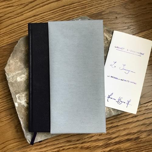 Le Sauvaginier - couverture cuir et toile