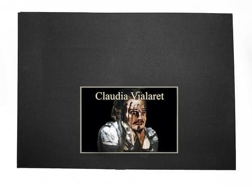 Claudia Vialaret - COURBET ET MOI (version LIVRET et 5 TIRAGES sous ÉCRIN)