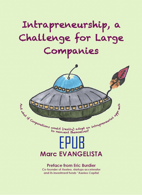 Marc Evangelista - Intrapreneurship, a Challenge for Large Companies - EPUB
