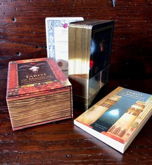 Special offer! The set of Tarot of Magical Correspondences and Kabbalistic Tarot.