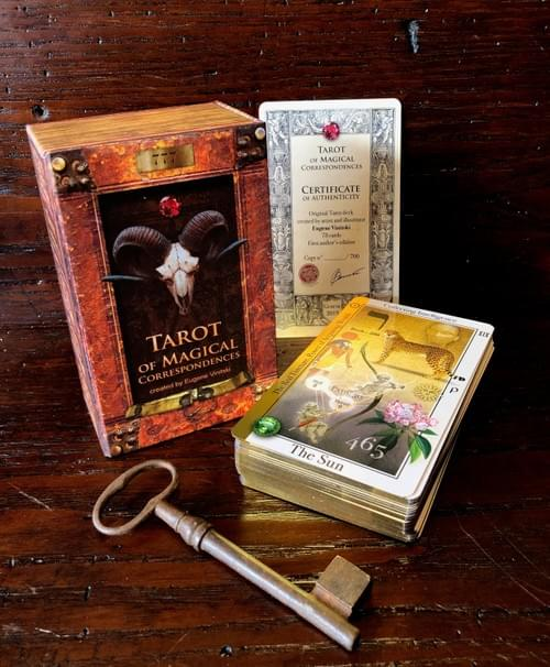 Tarot of Magical Correspondences. Kabbalistic Cards for Prediction and Meditation.