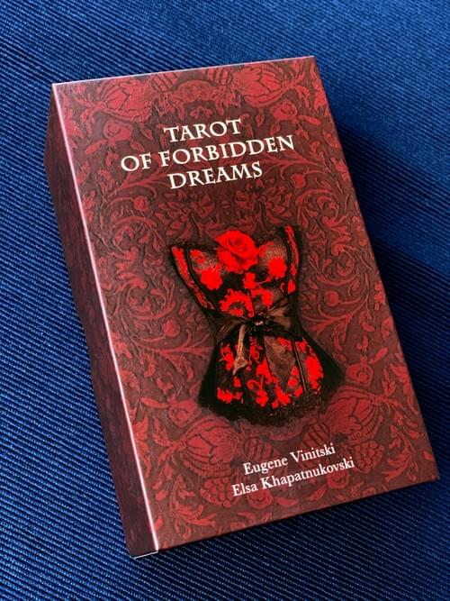 Tarot of Forbidden Dreams based on the wonderful ancient erotic pieces of art, mainly 17th - 19th c.