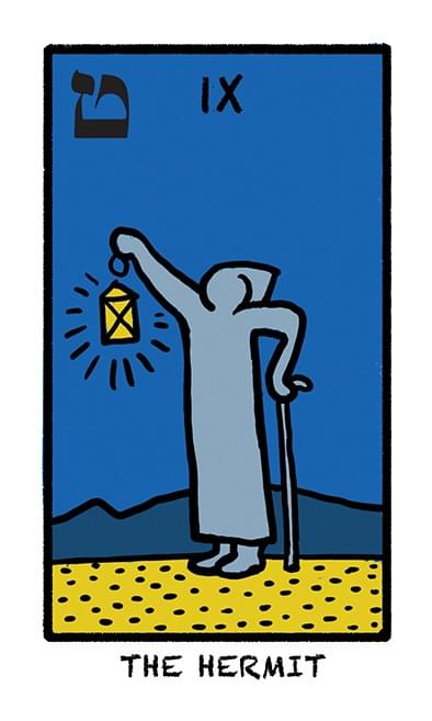 Tarot Deck The World in Colours. A unique Magic Tarot devoted to the pop art artist Keith Haring.