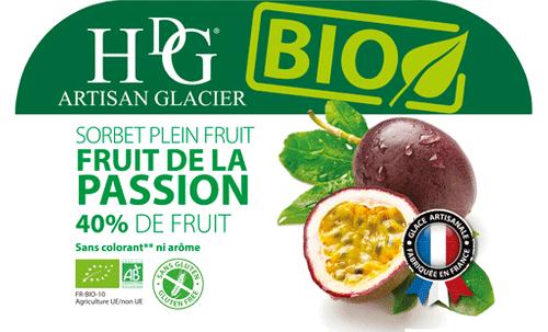 39097 Sorbet Fruit de la Passion BIO