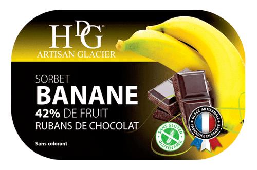 39062 Banane Rubans de Chocolat