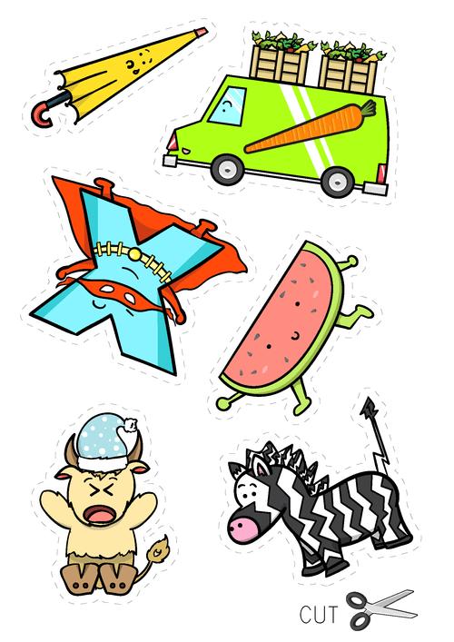 Character Cutouts