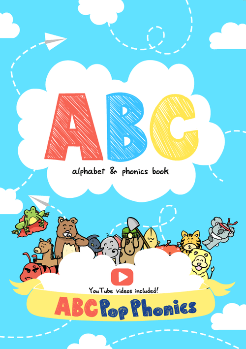 Alphabet & Phonics Book