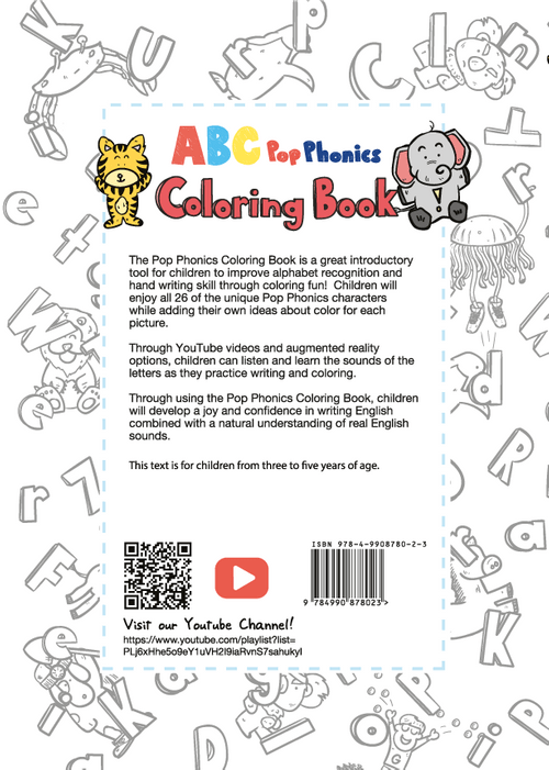 Coloring Book  (Trace the line to remember the shape)