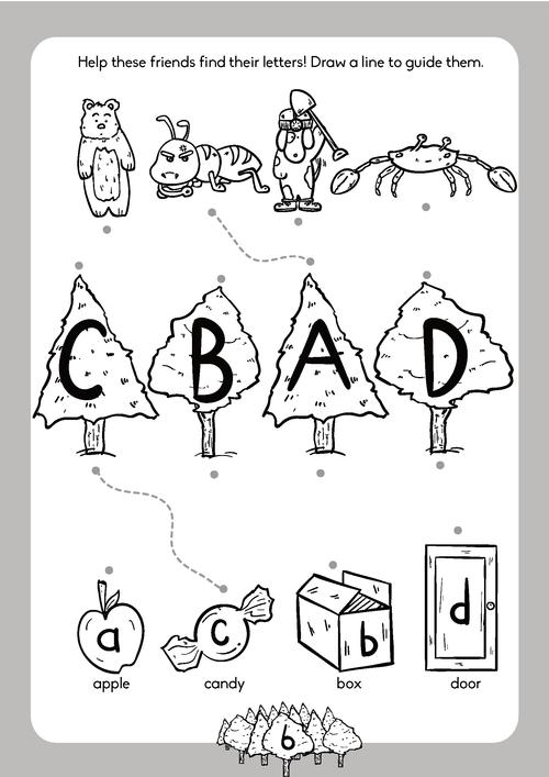 Alphabet & Phonics Book