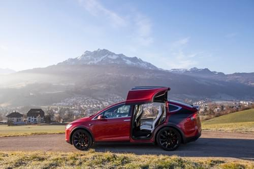 2017 Model X Performance 100D - Tosca - available from August 17th