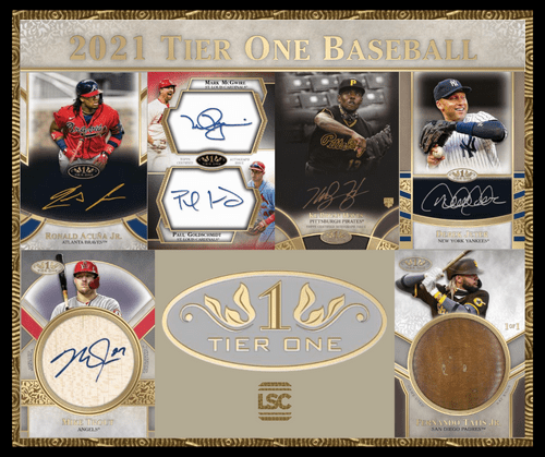 TOPPS TIER ONE 2021
