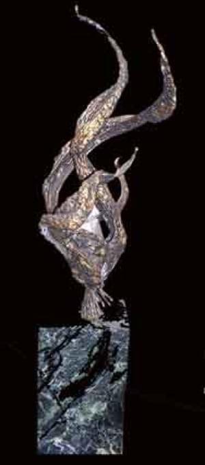"""""""Eternal Flame"""" Sculpture #124"""