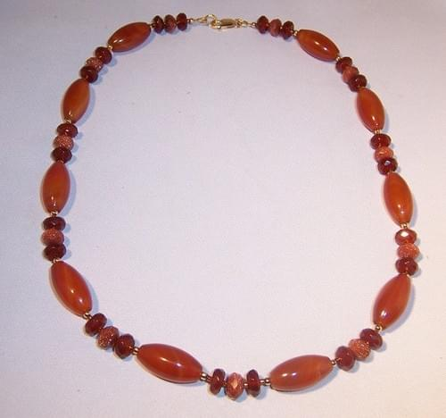 #2002  Carnelian Necklace