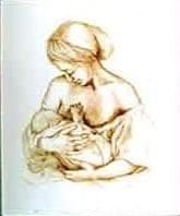 """""""Mother and Child"""" Lithograph #106"""