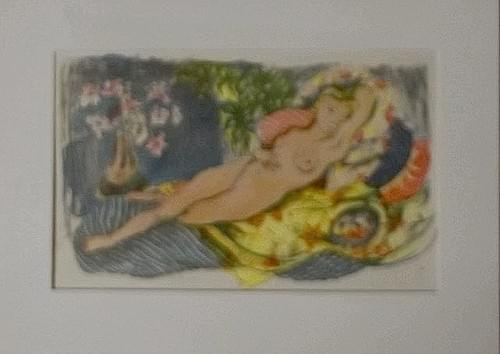 """Ode To Matisse"" Photo Lithograph #2224"
