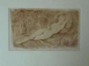 """Reclining Figure"" Photo Lithograph #2225"