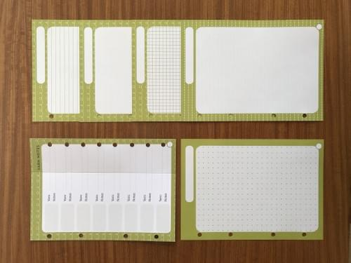 Extra paper - Green section