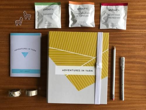 Organiser gift set - stationery lover