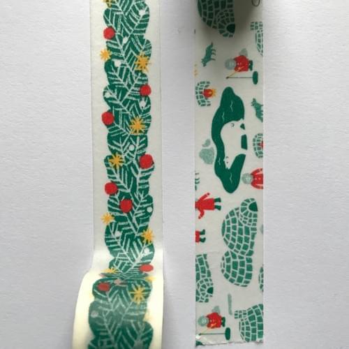 Washi tape (Masté - winter design)